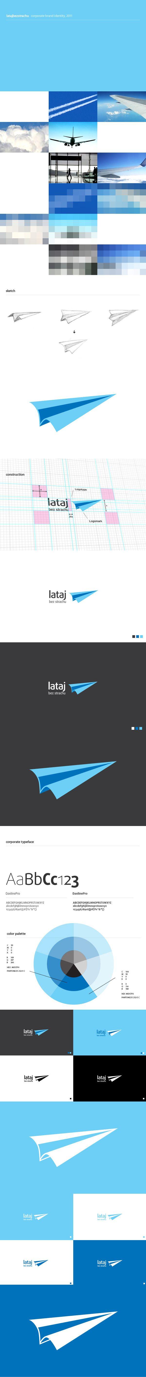 Logo design and Corporate Identity for Lataj Bez Strachu
