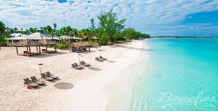 Caribbean village beach side