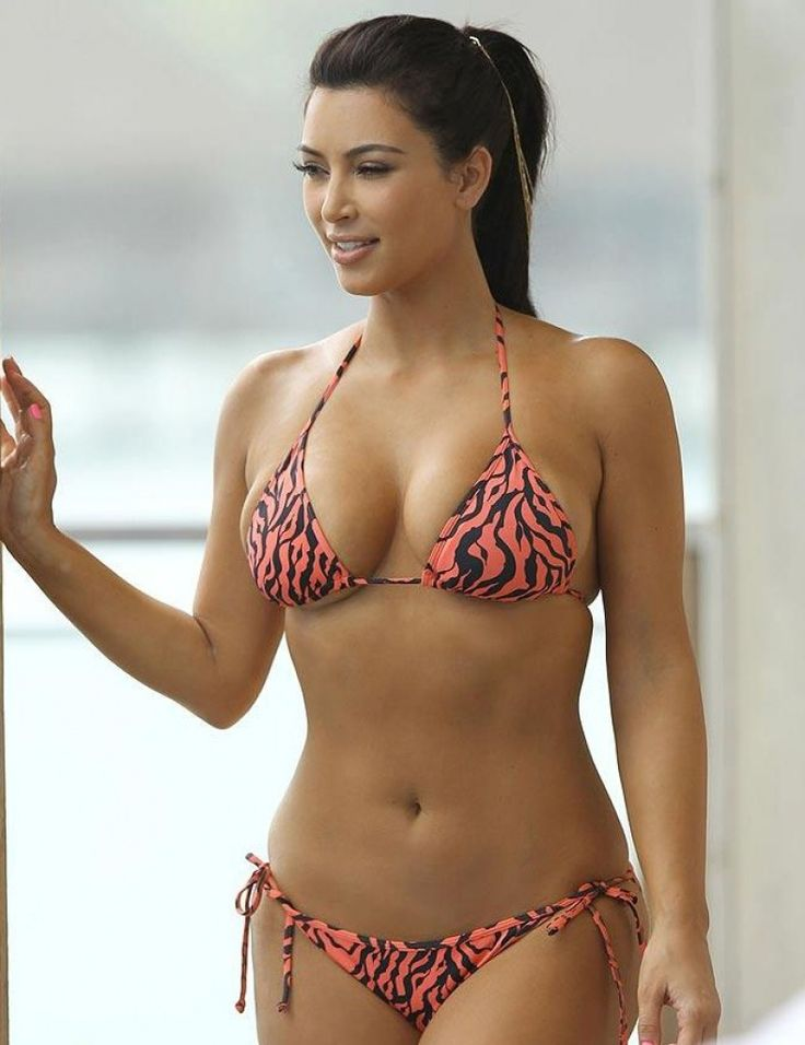 Kim Kardashian Loves Bikini
