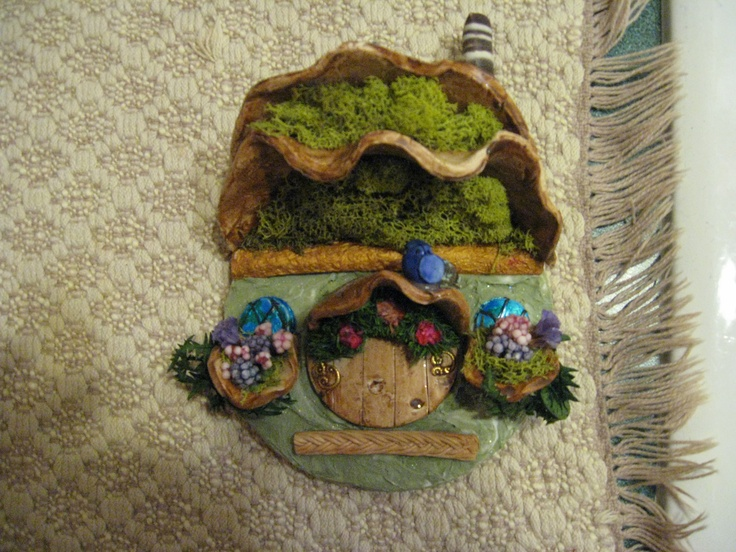 Cottages by Barb.  Made from Sculpy.