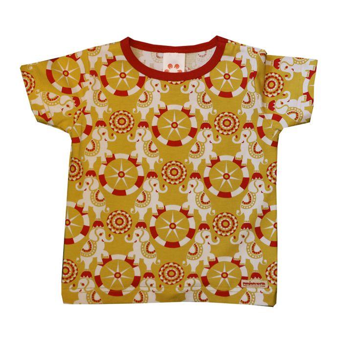 t-shirt - Punainen Norsu