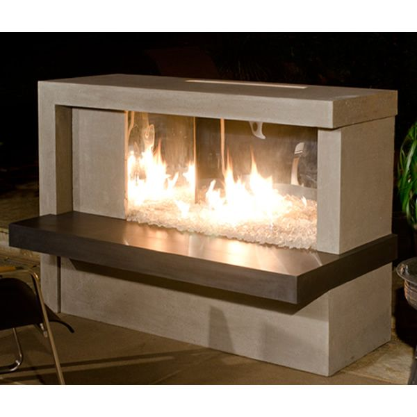 Manhattan Linear Fireplace Woodlanddirect Com Outdoor Outdoor Fireplaces Fire Pits
