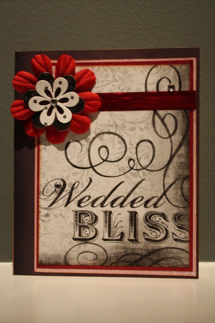 How to scrapbook wedding cards - Wedding Card Handmade