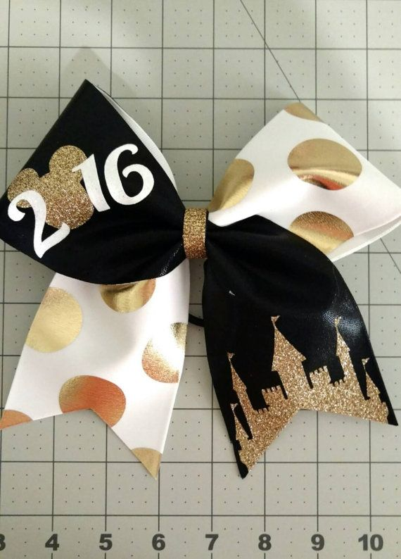 Disney cheer bow summit cheer bow team summit bows by CraftyOhBows