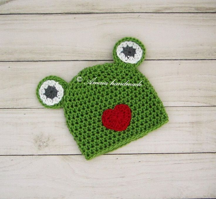Baby animal hat, Baby frog hat, crochet frog hat, crochet animal hat, newborn photo prop, baby frog outfit, baby costume, baby photo props by Amaiahandmade on Etsy