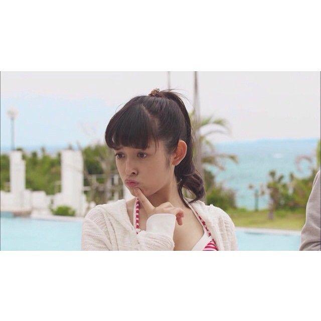 She's so cute and pretty.  #naoki #kotoko #irie #wife #miki #aihara #honoka #honoki #furukawa #yuki #honeymoon #okinawa #tokyo #japan #couple #parents #mother #father #nurse #doctor