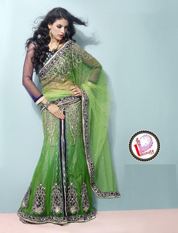 1 saree minute how to wear
