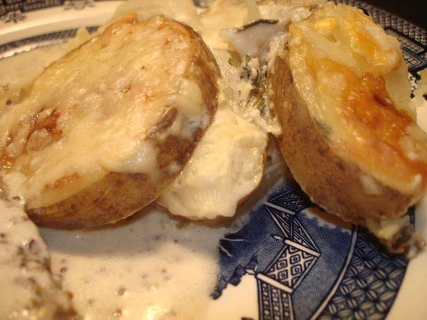 Swedish Potato Gratin - Potatisgratäng
