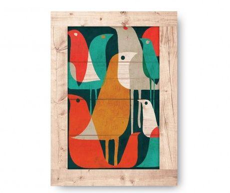 Tablou Abstract Bird 50x70 cm
