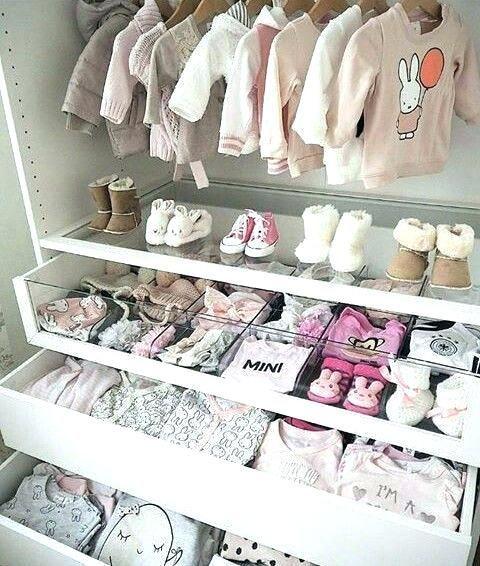 Baby Organization Closet System For Nursery Binder Girl