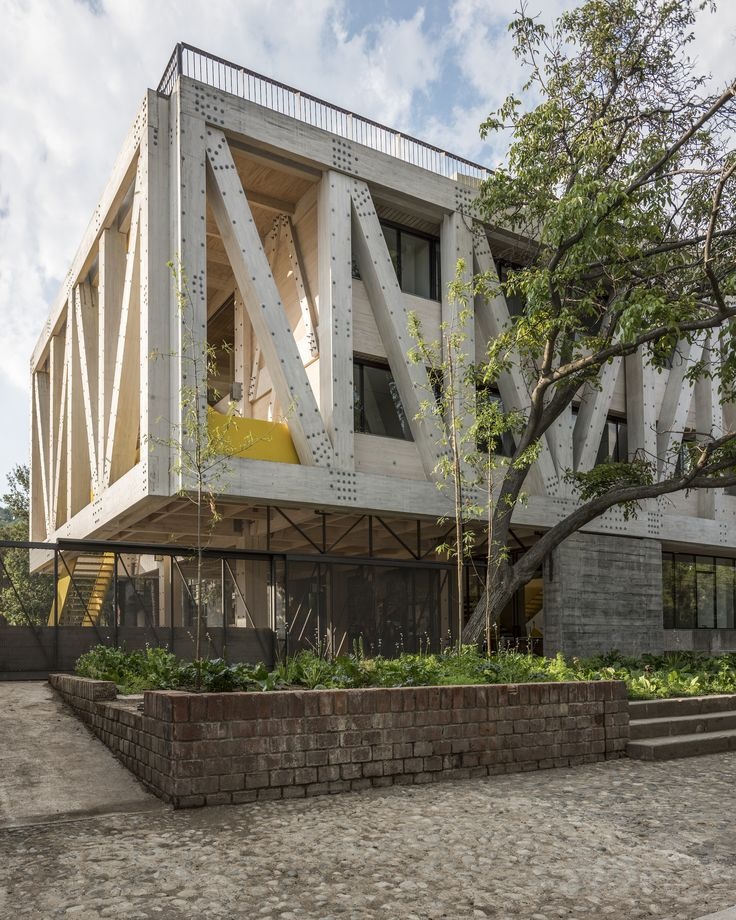 Completed in 2016 in Providencia, Chile. Images by Philippe Blanc, Erieta Attali . The new building of the Architecture School of Pontificia Universidad Católica de Chile is emplaced in the south corner of Lo Contador campus, aside...