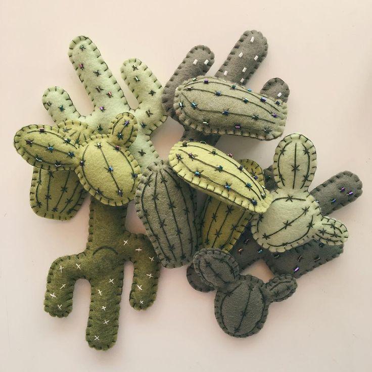 Cactus Ornaments.