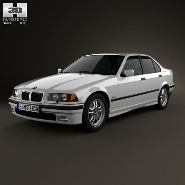 Bmw 3 Series E36 Sedan 1994 3docean Item For Sale E36 Sedan