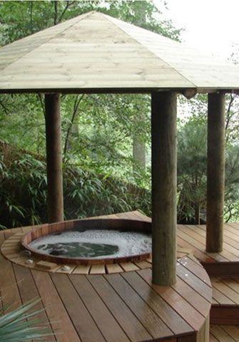 40 Best Wooden Hot Tubs Images On Pinterest Hot Tubs