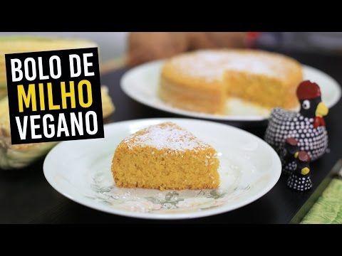 BOLO DE MILHO COM COCO | VEGANO| SEM GLÚTEN | TNM Vegg - YouTube