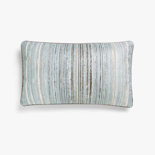 Image of the product Textured striped cushion cover