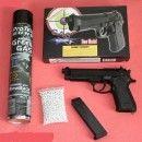Pistol Green Gaz Airsoft Beretta