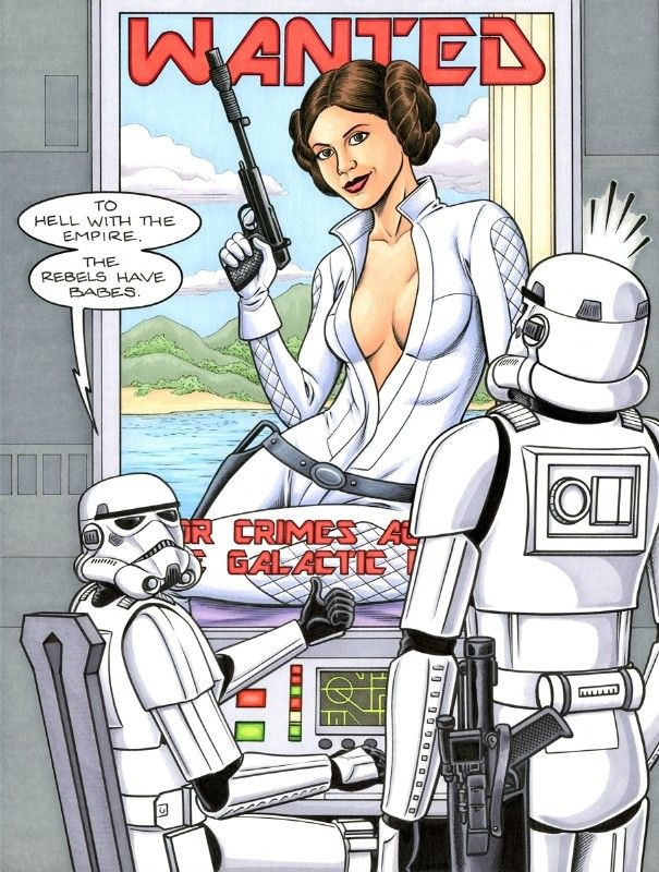 Pin on Carrie Fisher Art