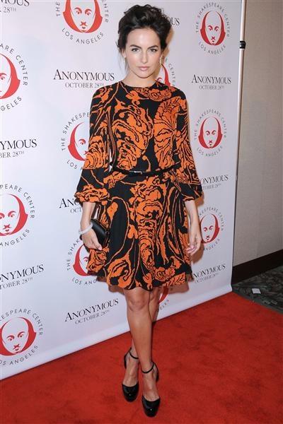 Camilla Belle....beautiful make up & hair