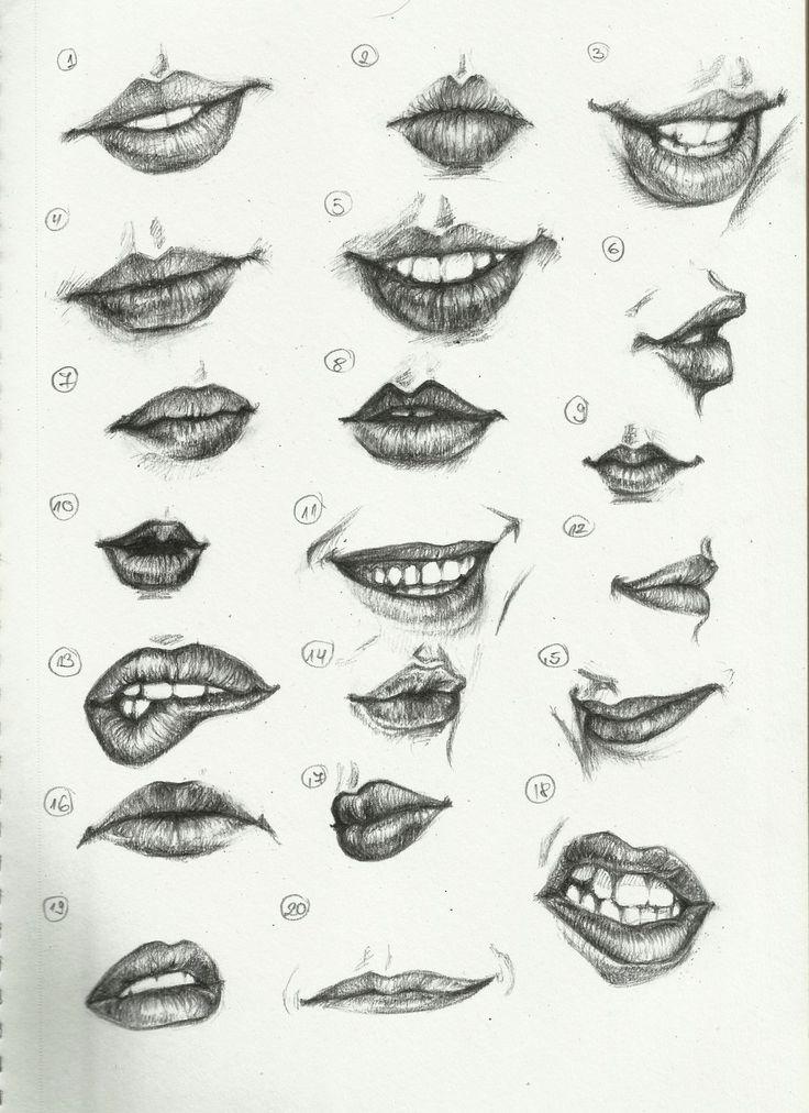 Verschiedene Formen der Lippen...✨