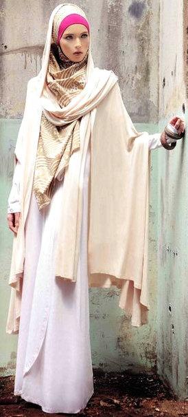 http://abayatrade.com muslim fashion magazine  #Hijab Elegant layers.