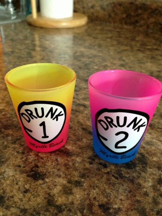 Best friend shot glasses!!lmao!!@Summer Olsen Bybee-Oneill,these are what we need!