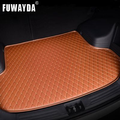 FUWAYDA car ACCESSORIES Custom fit car trunk mat for Chevrolet Sail 2010-2014 travel non-slip  waterproof Good quality