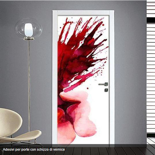 #astratti Arreda la tua casa con originalità pellicole adesive per decorare in modo semplice e fantasioso i tuoi ambienti  Nel catalogo online potrai trovare tantissime immagini. http://www.quadriperarredare.it/shop/adesivo-per-porta-schizzo-di-colore/  pellicole adesive stampate in qualità hd plastificate per decorare in modo semplice e fantasioso i tuoi ambienti.  SI APPLICA CON FACILITA' Guarda il video per Attaccare gli Adesivi sulle Porte senza bolle…