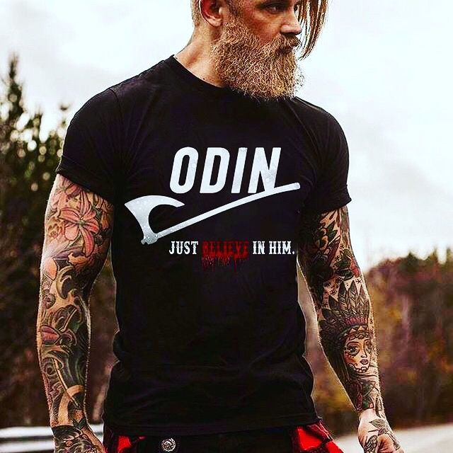 df8bcd23 Odin Just Believe In him in 2019 | Vikings | Vikings, Norse vikings ...