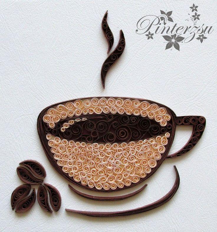 Чашка кофе по pinterzsu