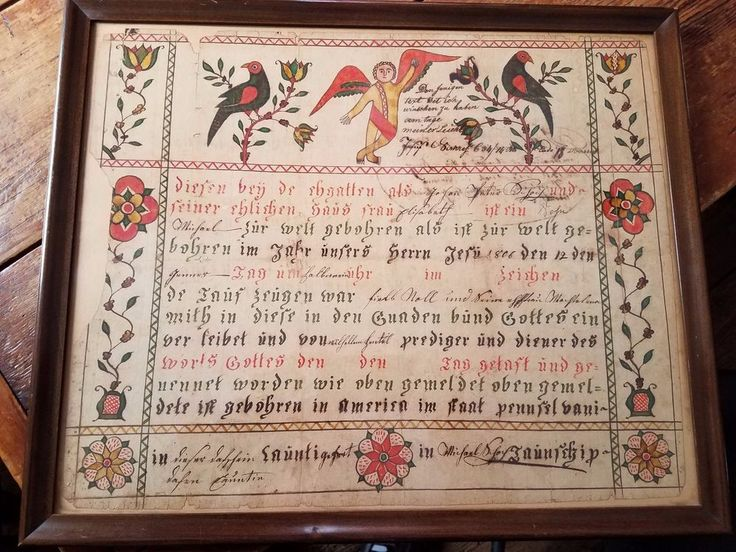 1404 best Dead Peopleu0027s Fraktur images on Pinterest Folk art - copy translate mexican birth certificate