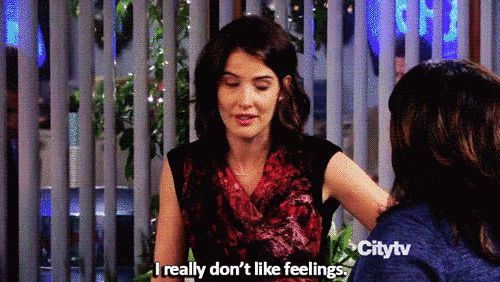 "She doesn't like showing her softer side to just anyone. | Community Post: 15 Reasons Robin Scherbatsky From ""HIMYM"" Is The Absolute Best"
