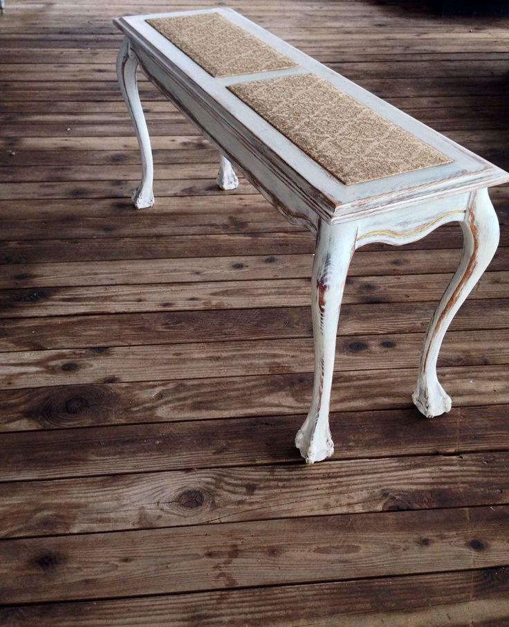 SOLD!!!  Shabby Chic Rustic Console Table by GrabASeat on Etsy