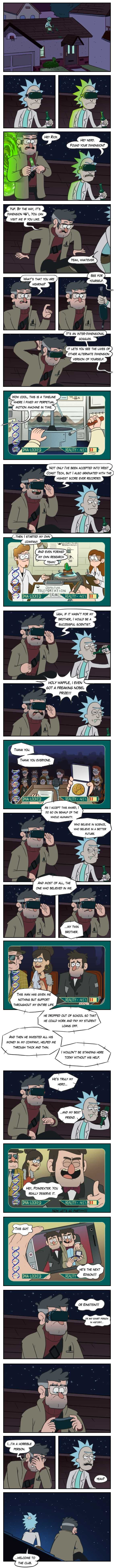 Crossover Rick and Morty & Gravity Falls - Imgur