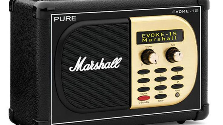 If you're a rocker, then the official Pure Evoke-1S Marshall DAB+ radio is the only portable you need. It features great sound and authentic looks.