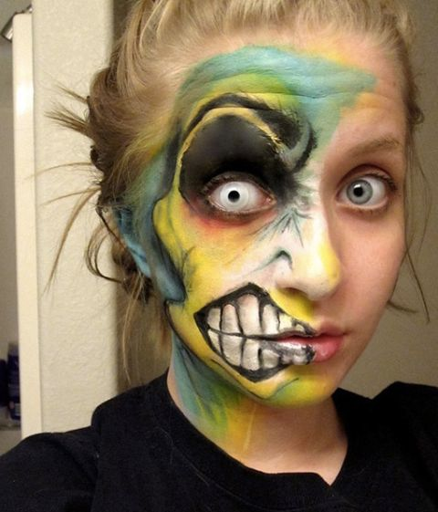 47 best Halloween Make Up images on Pinterest | Halloween ideas ...