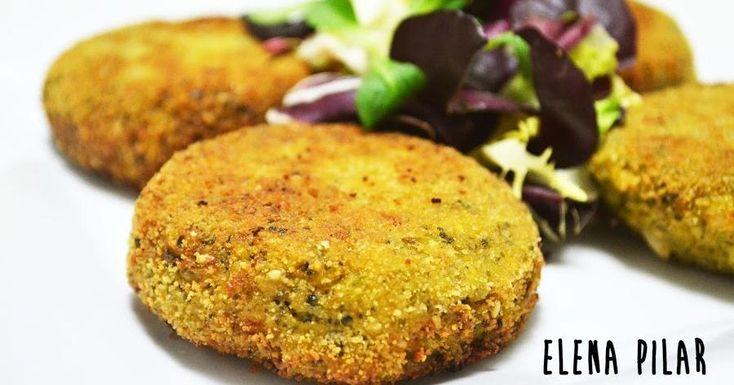 Nunca comer brócoli fue tan delicioso. No te pierdas esta hamburguesa hecha con este vegetal y que nos traen desde el blog MI RECETARIO POR ELENA PILAR.