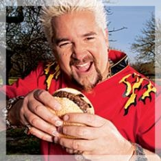 Guy Fieri's Killer Inside-Out Burger