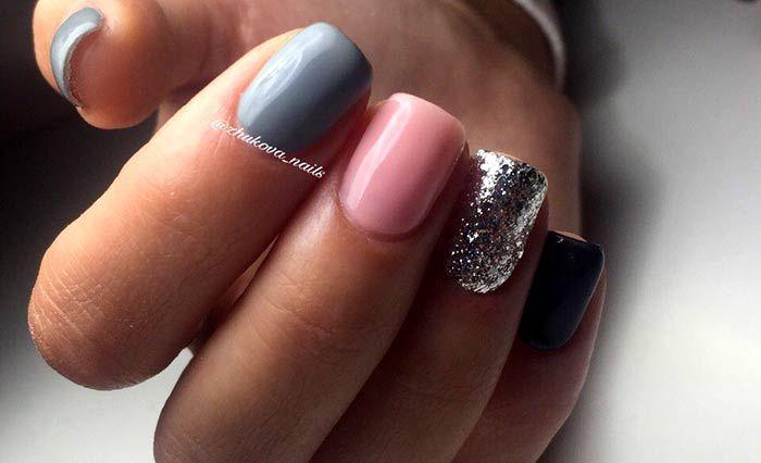 Шеллак на короткие ногти: 100 фото красивого дизайна