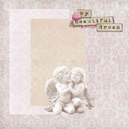 ПосиДелки с Ёлкой: Титульная обложка для альбома Настеньки