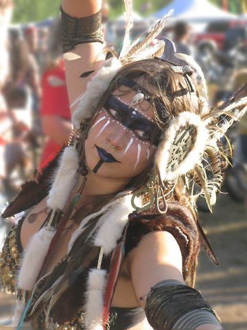 Neo-tribal Dancer, Oregon Country Fair