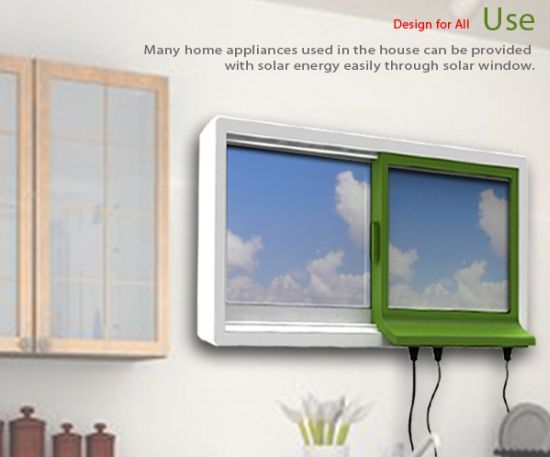 Solar Powered Appliances | Solar Window: Let your window power your home appliances – Green ...