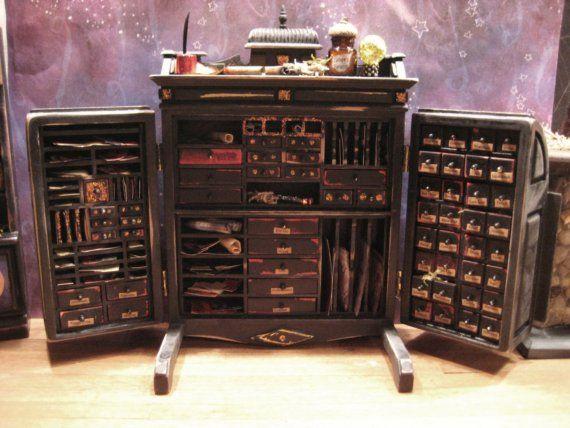 Apothecary Cabinet  so many draws :D