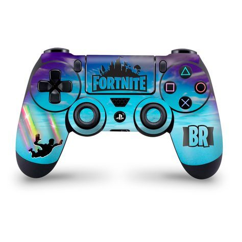 Stormy Sky Rainbow Trails Ps4 Controller Skin In 2019