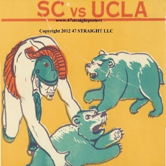 USC football gifts! USC drink coasters, UCLA drink coasters, football ticket coasters. Best football gifts in the nation!