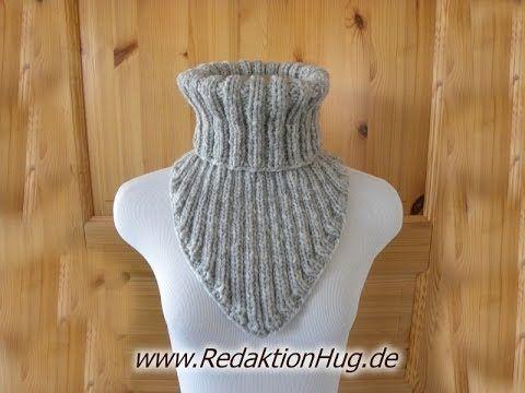 Stricken - Keil-Kragen - Schal aus Teramo von Pro Lana Teil 1