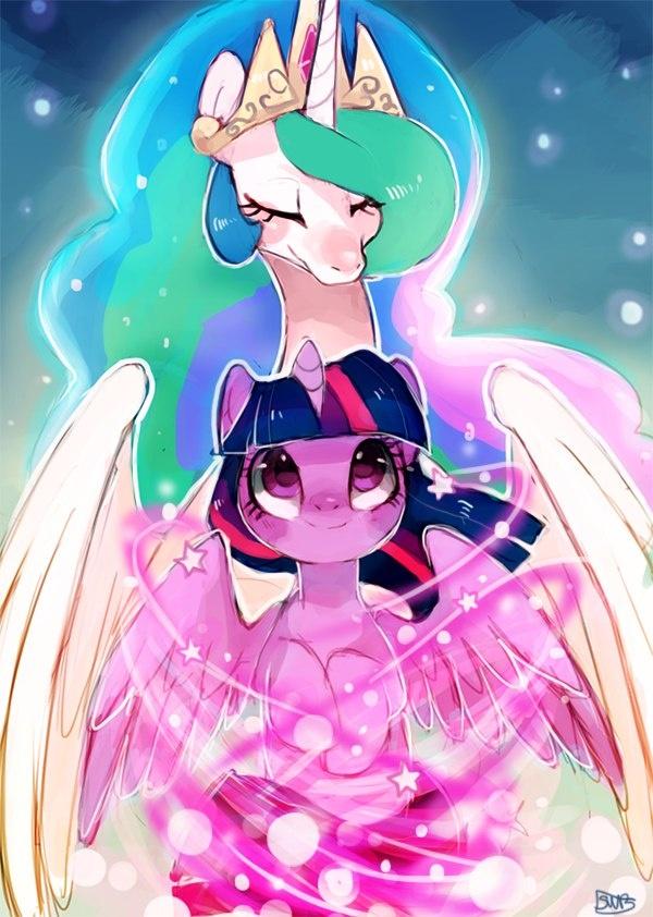 Celestia Twilight Sparkle