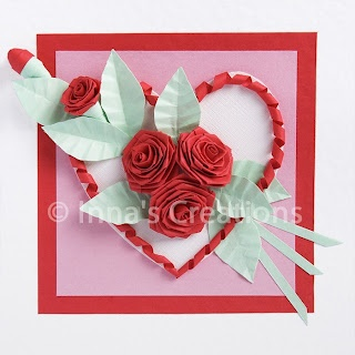 how to fold a rose (quilling): Paper Rose, Inna Creations, Quilling Tutorials, Folding Rose, Crafts Kids, Rose Quilling, Valentines Cards, Creations Crafts, Cards Tutorials