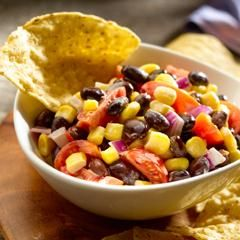 Creamy Black Bean & Corn Salad: Black Beans, Corn Salad Recipes, Side ...