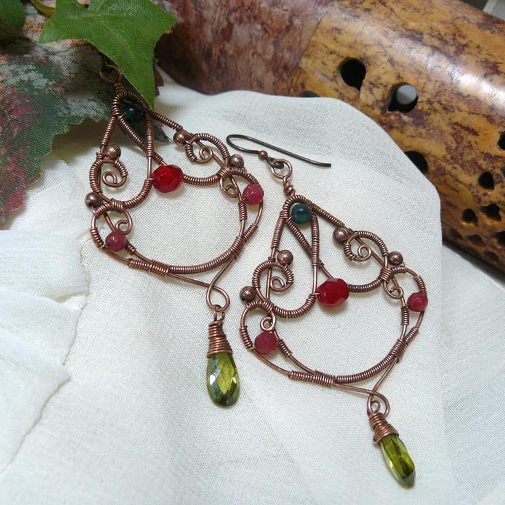 Attractive Copper Wire Work Jewelry Photo - Schematic Diagram Series ...